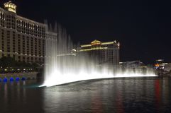 Bellagio waterworks, Las Vegas Stock Image