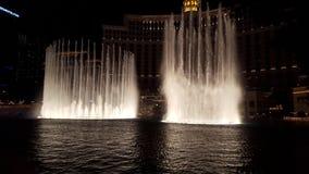 Bellagio wodne fontanny obraz stock