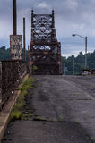 Bellaire桥梁-俄亥俄河 免版税库存图片
