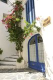 Bellaire street in Cadaques stock image