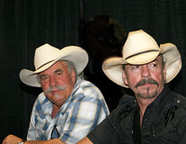 The Bellamy Brothers - CMA Music Festival 2009. The Bellamy Brothers at the CMA Festival June 11-14, 2009 in Nashville, Tennessee signing autographs Stock Images