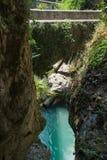 Bellano Italia vicino al como del lago Fotografie Stock