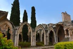 Bellapais修道院修道院 免版税库存图片