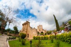 Bellapais修道院 凯里尼亚,塞浦路斯 库存图片