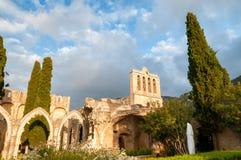Bellapais, средневековое аббатство около Kyrenia, Кипра стоковые фото