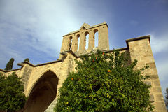 Bellapais Abbey Stock Image