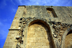 Bellapais Abbey. Gothic arches at Bellapais Abbey in Kyrenia, Cyprus Royalty Free Stock Photography