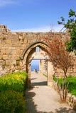 Bellapais abbey Stock Photography