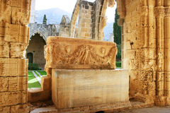 Bellapais abbey Royalty Free Stock Images