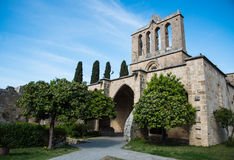 Bellapais Abbey Royaltyfri Foto