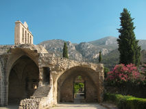 Bellapais abbey, Cyprus Stock Image