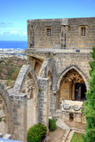 Bellapais Abbey in Cyprus. Historic Bellapais Abbey in Kyrenia, Northern Cyprus. Original construction was built between 1198-1205, it is the most beautiful Stock Images