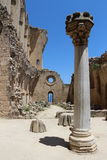 Bellapais Abbey in Cyprus Stock Image