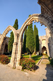 Bellapais Abbey, Kyrenia. Northern Cyprus Stock Images