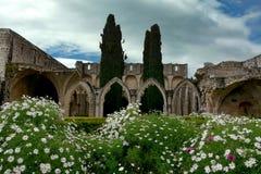 Bellapais Abbey Monastery fotos de stock