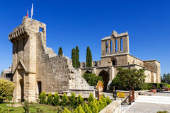 Bellapais Abbey near Kyrenia, Northern Cyprus Royalty Free Stock Image