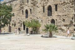 Bellapais Abbey near Kyrenia royalty free stock photos