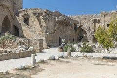 Bellapais Abbey near Kyrenia royalty free stock image