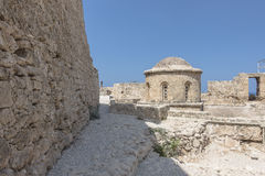 Bellapais Abbey near Kyrenia royalty free stock images