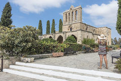 Bellapais Abbey near Kyrenia Royalty Free Stock Photos