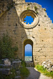 Bellapais Abbey in Northen Cyprus Royalty Free Stock Photo