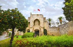 Bellapais Abbey in Northern occupied Cyprus stock photography