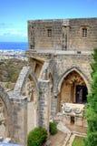 Bellapais Abtei in Zypern Stockbilder