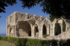 Bellapais Kloster Lizenzfreie Stockfotos