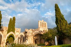 Bellapais, medieval Abbey near Kyrenia, Cyprus Stock Photos
