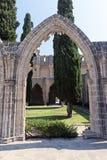Bellapais -northern cyprus Stock Photos