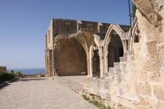 Bellapaisklooster, Noordelijk Cyprus Stock Foto