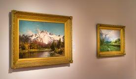 Bellas arte en la exhibición dentro del De Young Museum en San Francisco Foto de archivo libre de regalías