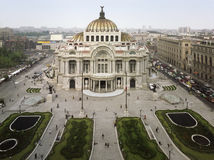 Bellas Artes. Palacio de Bellas Artes in Mexico City Royalty Free Stock Images