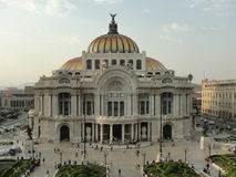 Bellas Artes Mexico-City Stock Afbeelding