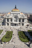 Bellas Artes Palace. Located at historical center of Mexico City Stock Photos