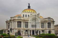 Bellas Artes Palace. In the historical part of Mexico City Stock Photo