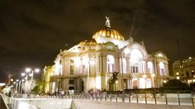 Bellas artes Palace. Mexico city  bellas artes Stock Photography