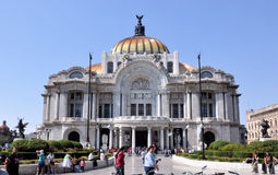 Bellas Artes Palace Mexico City. Image of the Bellas Artes Palace, Mexico City Royalty Free Stock Photography