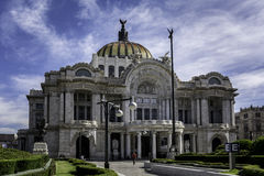 Bellas Artes Palace Stock Photography