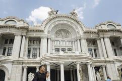 Bellas Artes Palast Mexiko City Lizenzfreie Stockfotos