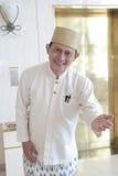 гостеприимсво консьержа bellboy Стоковые Фотографии RF