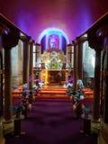 Belle église catholique Images libres de droits