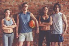 Belle équipe de sports Photographie stock libre de droits