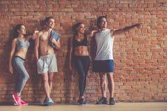Belle équipe de sports Photo stock