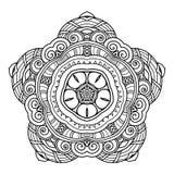 Belle étoile de Deco de vecteur illustration de vecteur