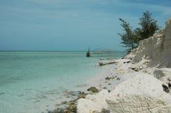 Belle île Cuba Images stock