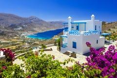 Belle île d'Amorgos, Cyclades, Grèce Image stock