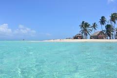 Belle île d'archipel de San Blas, ¡ de Panamà images libres de droits