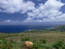 Belle île de Pâques Photographie stock