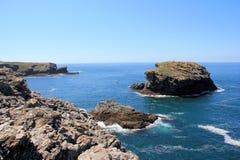 Belle-Île-en-Mer in Brittany. Belle-Île-en-Mer, beautiful island in France Stock Image